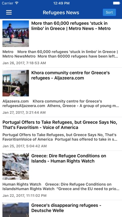 Greek News in English & Greece Radio Pro screenshot-3