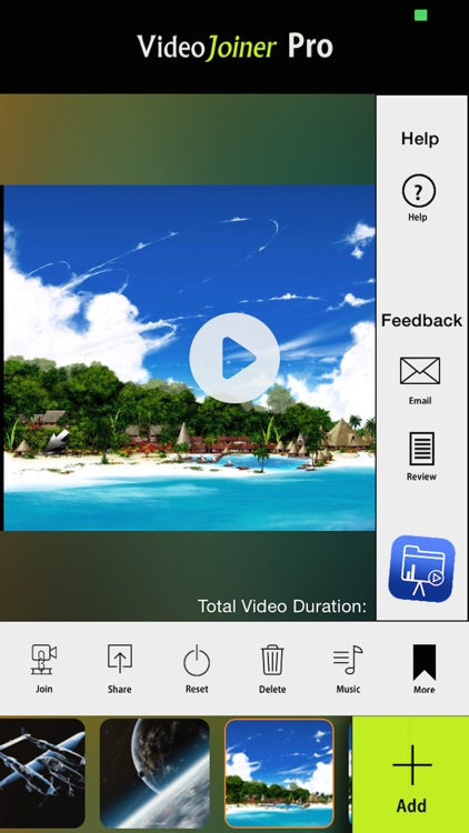 VideoJoiner - Video Editor to Merge & Edit Movies screenshot-4