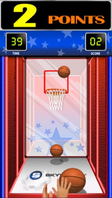 Screenshot #1 for Arcade Hoops Basketball™ Free