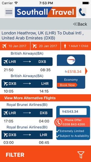 SOUTHALL TRAVEL on the App Store