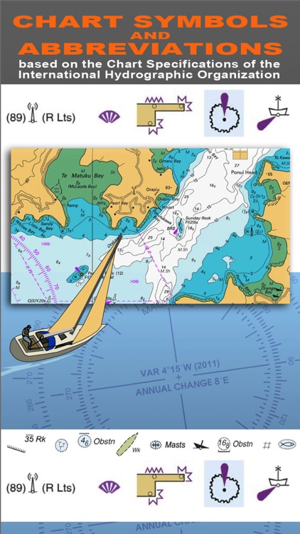 NAUTICAL CHART SYMBOLS & ABBREVIATIONS screenshot-1