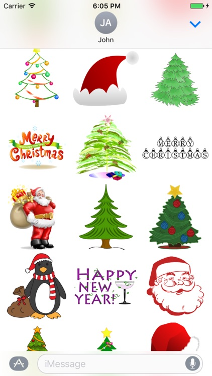 Christmas Stickers for iMessage  +