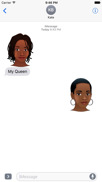 My Queen Mi Reina Stickers