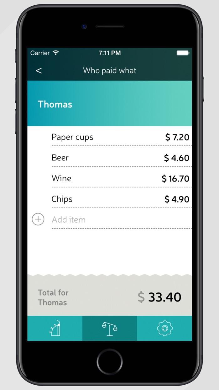 Split Wizard: Share Bills Payments Group Expenses Screenshot