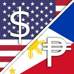 USD US Dollar PHP Philippine Peso Converter