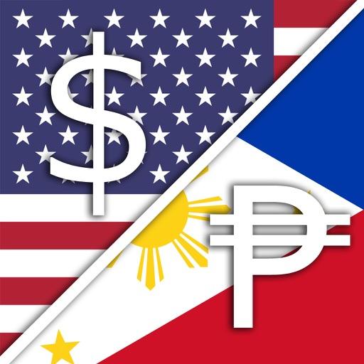 USD Dollar PHP Philippine Peso Converter