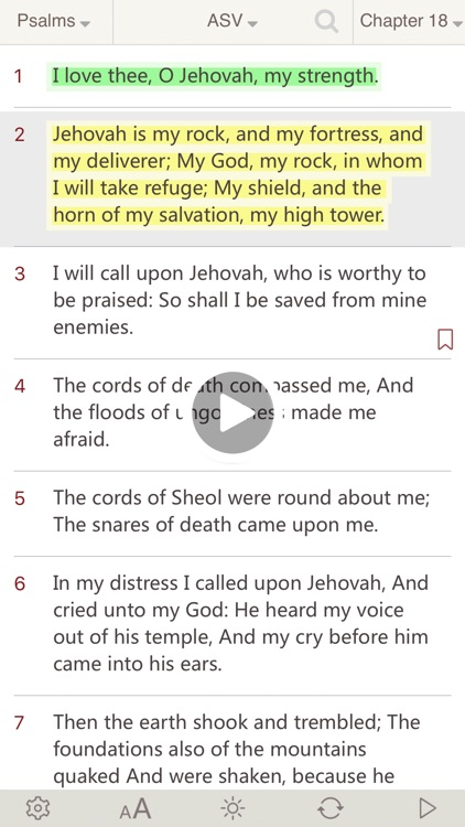 Bible : Holy Bible ASV - Bible Study on the go