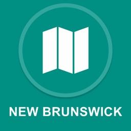 New Brunswick, Canada : Offline GPS Navigation