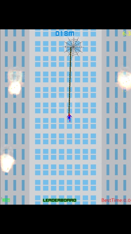 Spider Climber - Rope Swing screenshot-3