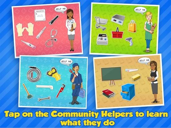 Community Helpers Play & Learn на iPad