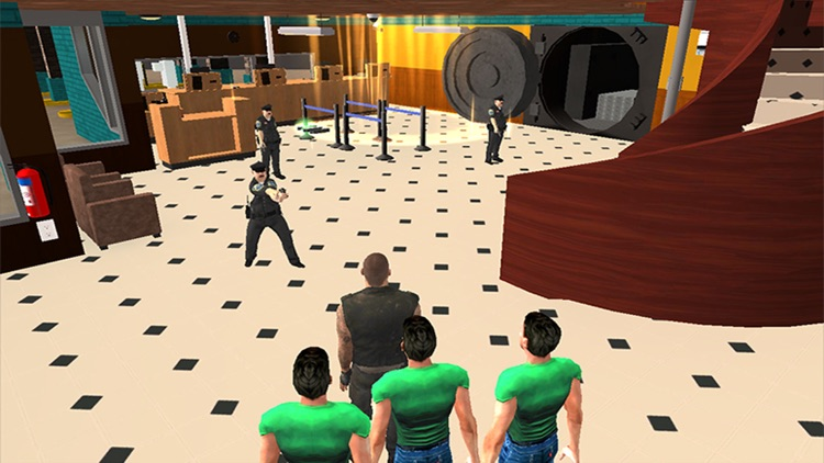 Gangster Bank Robbery - Cops and Robber Heist Game