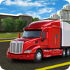 Cargo Trailer Driving Simulation: Truck Delivery Icon