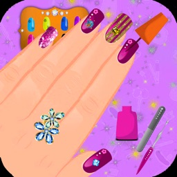 Wedding Nail Salon - Nail Makeover Games for Girl