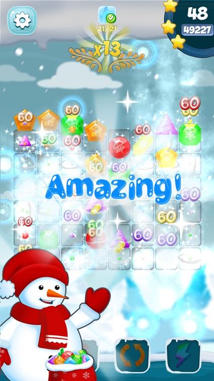Frozen Diamond Mash: Winter Edition - Puzzle Game
