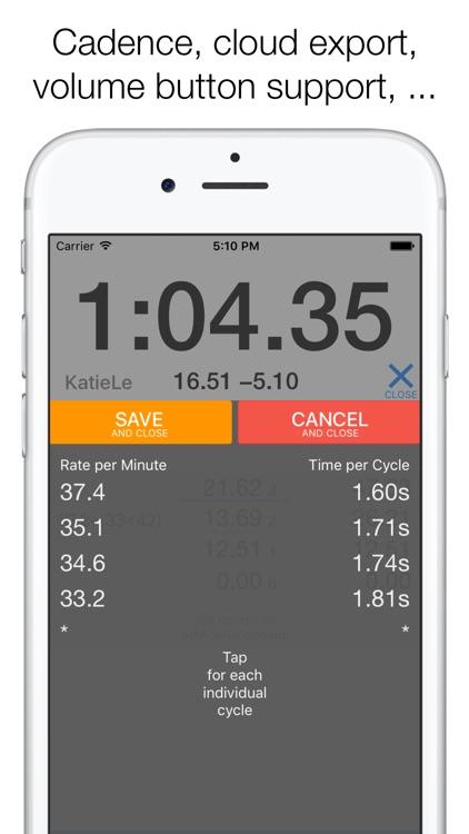 Herotime: Smart Multi Stopwatch screenshot-4