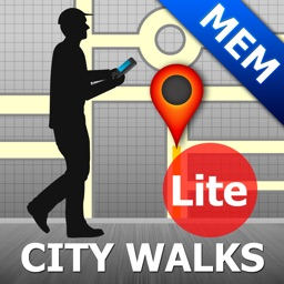Memphis Map and Walks