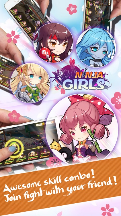 Ninja Girls: Reborn screenshot-3