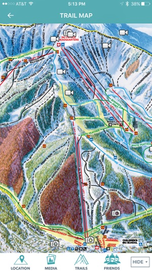 Taos Ski Valley, Inc. on the App Store Taos Ski Valley Map on