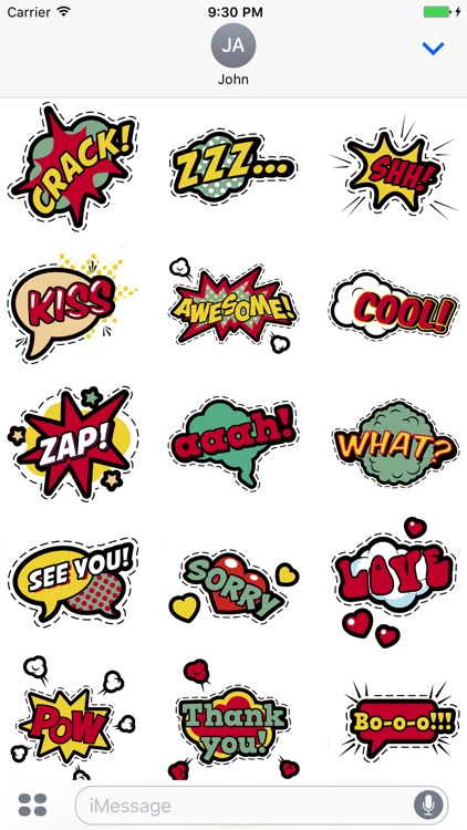 Comic Stickers Pro - Stickers for iMessage