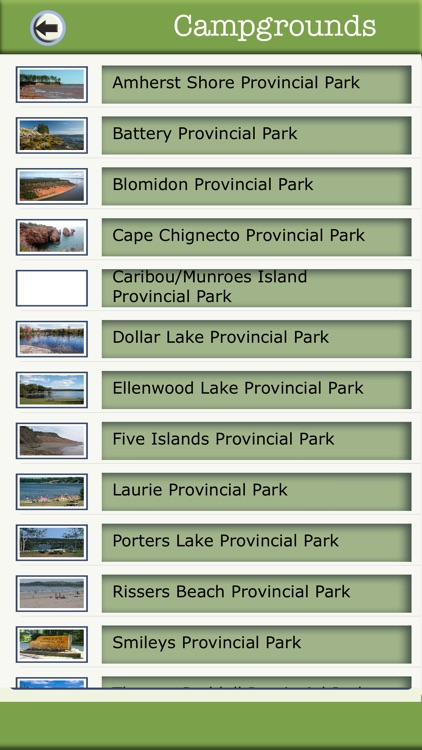 Nova Scotia Camping & Hiking Trails