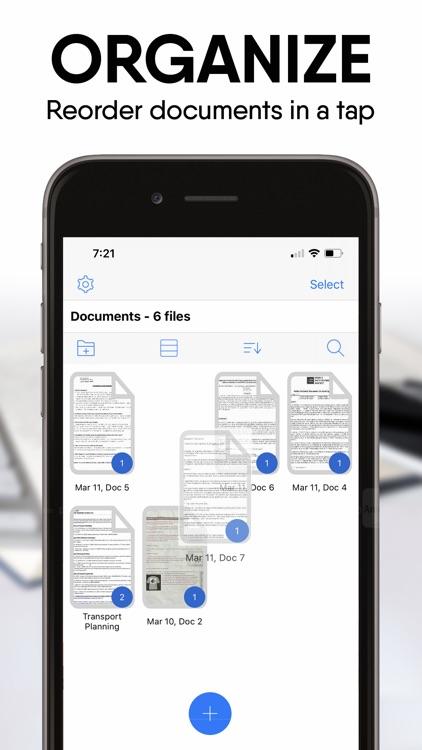iScanDocs - Scanner App screenshot-7