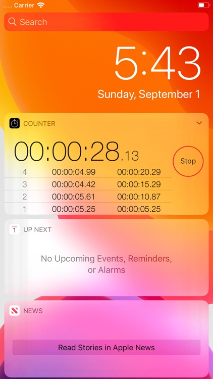 Counter: Stopwatch and Timer