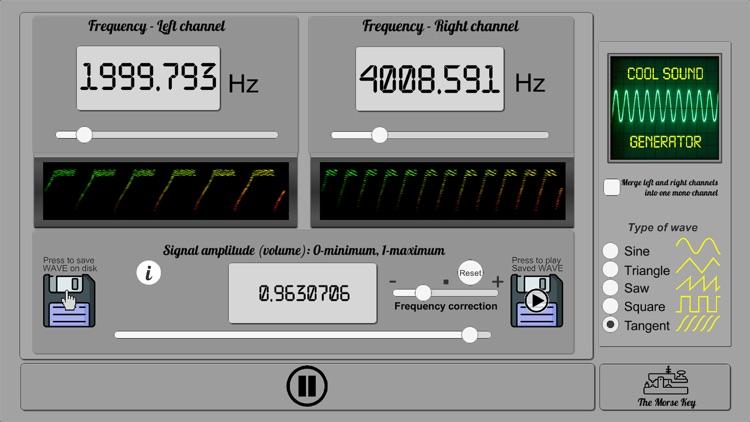 Cool Sound Generator screenshot-4