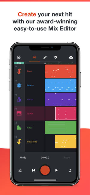 ‎BandLab – Music Making Studio Screenshot