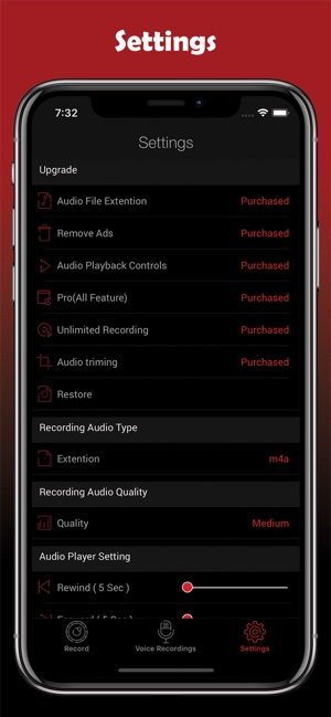 HD Audio Recorder & Voice Memo on the App Store