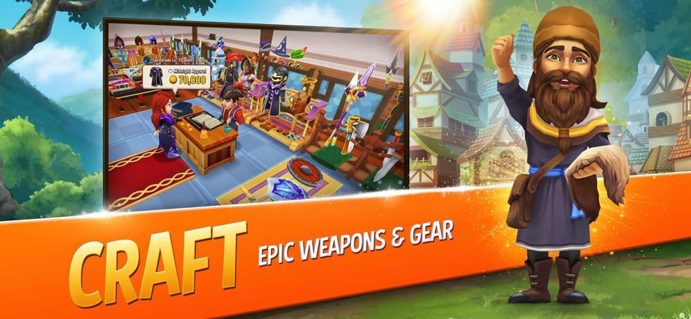 Shop Titans: Craft & Build hack tool