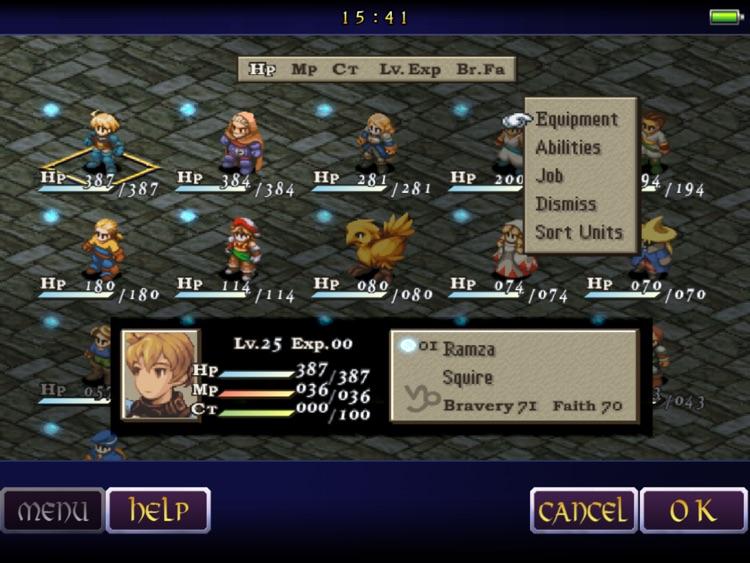 FINAL FANTASY TACTICS screenshot-3