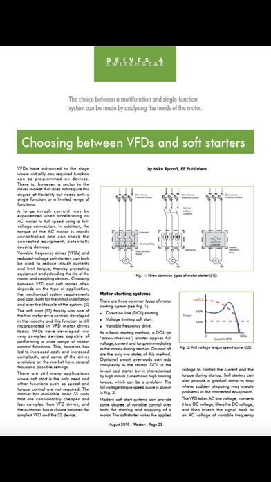 Vector Magazine screenshot four