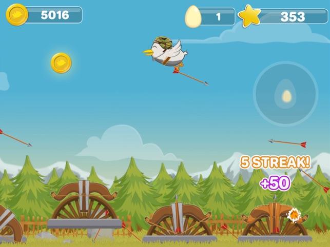 Bird vs Bows, game for IOS
