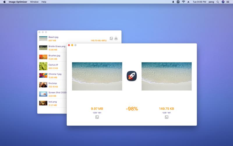 Screenshot of Image Optimizer - Compression