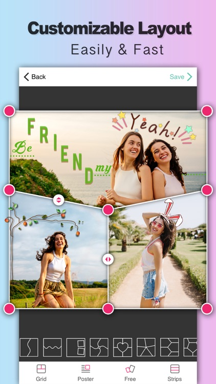 Photo Collage - Perfect Image screenshot-0