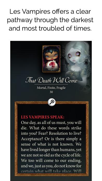 Les Vampires Oracle screenshot 4
