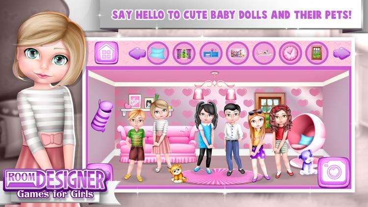 Room Designer Game.s for Girls screenshot-3