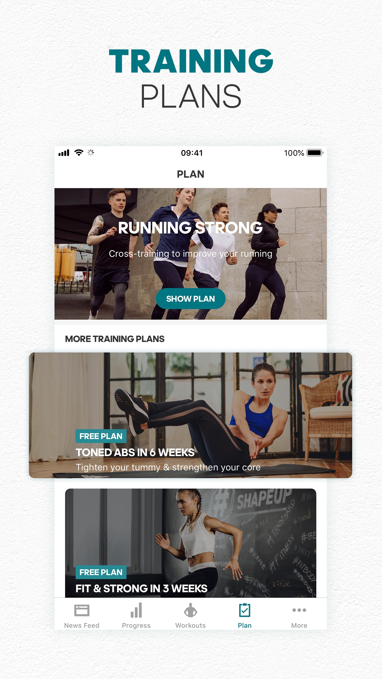 adidas Training by Runtastic Screenshot