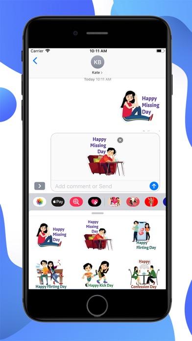 Post Valentine Special Sticker screenshot 2
