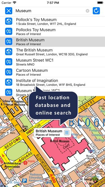 Central London A-Z Map 19 screenshot-3
