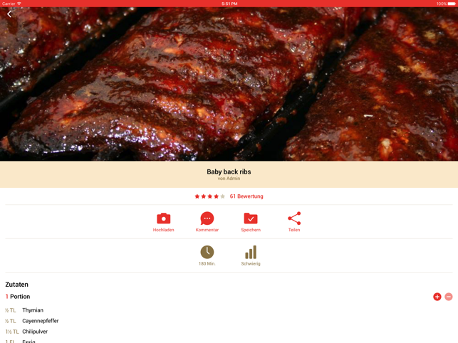 ‎Grillrezepte 2 Screenshot