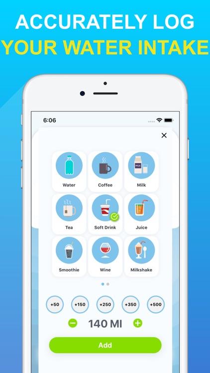 My Water Tracker & Reminders screenshot-4