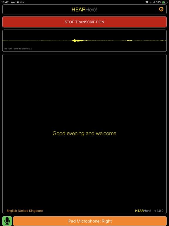 HearHere screenshot 4