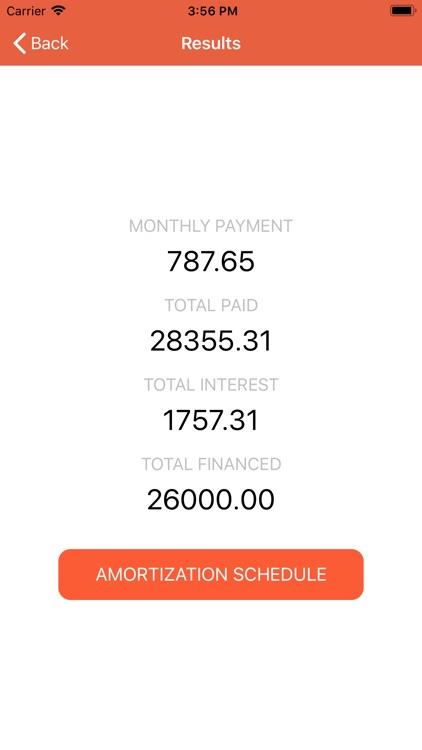 Auto Loan Calculator: Car Loan screenshot-4