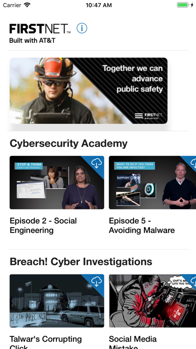 FirstNet Cybersecurity Aware screenshot 1