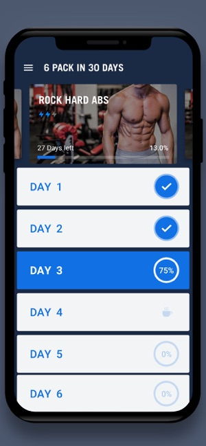 0dd6ad732 Six Pack in 30 Days - 6 Pack on the App Store
