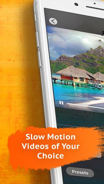 Slow Motion Video Editor゜ screenshot-0