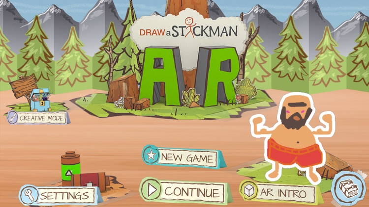 Draw a Stickman: AR