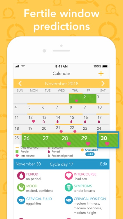Ovia Fertility & Cycle Tracker screenshot-4
