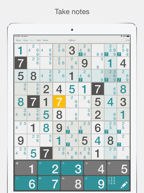 Sudoku⁺ screenshot